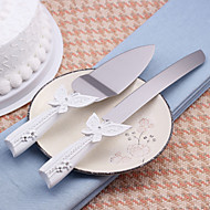 set di servizi wedding cake coltello bella farfalla torta di disegno coltello / set di server
