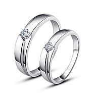 925 Sterling Silver Couples Rings