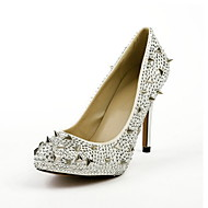 Suede Stiletto Heel Pumps With Rivet Party / Evening Shoes
