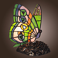 tiffany-style motýl tvaru výzdobě lampa (0835-gt706)