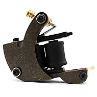 Volframi Steel Wire-leikkaus Daul kelat 10 kierrosta Tattoo Machine Gun for Liner