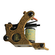 Professional Cast Iron 10-wrap Coil Tattoo Machine Shader