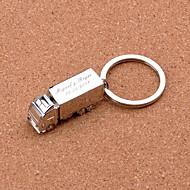 Personlig nyckelring - Truck (Set av 4)