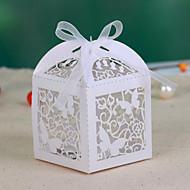 Buterfly Hohle-heraus Wedding Favor Box (Satz 12)
