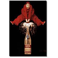 Painettu Canvas Art Vintage Belgia Alkoholi Red Man Vintage Apple Collection venytetty Frame