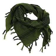 야외 머리 목 스카프면 먼지 방지 비스크, 검정, 회색, 빨강, 녹색