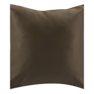 TWOPAGES® Modern Style Solid Brown Polyester Decorative Pillow Cover