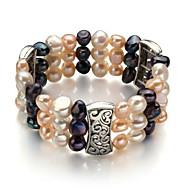 Bracciali Per donna Filo Perle/Lega Perle