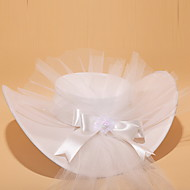 Women's Satin/Lace/Tulle/Alloy Headpiece - Wedding/Special Occasion Hats