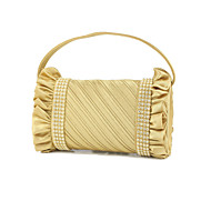 Elegant Silk with Austria Rhinestones Special Occasion Evening Handbag/Clutches(More Colors)