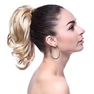 최고 급료 합성 짧은 금발 파도 치는 묶은 머리