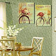 Stretched Canvas Art Floral Shop Set of 2