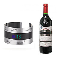 kreativní nerezové oceli červené víno teplota náramek teploměr pivní domácí bar nářadí