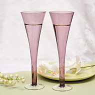 Personalezed Elegant Toasting Flutes (Set of 2)