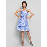 Homecoming Cocktail Party/Homecoming/Prom/Sweet 16 Dress - Lavender Plus Sizes A-line Halter/Sweetheart Knee-length Taffeta