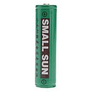 Pequenas dom 18650 3.7V 2400mAh recarregável Li-ion