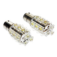 1157 S25 BA15D 1.5W 150-180LM 6000-6500K Wit 18-LED auto Signaal / Turning Lamp (2 stuks)