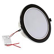 Dimmable 18W 1620LM 3000-3500K Warm White Light Black Shell LED Ceiling Bulb (220V)