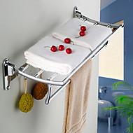 Sharks d fish stainless steel chromium-plated folded bathroom Towel rack bathroom hardware accessories bathroom glass shelf