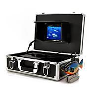 Monitor com Câmeras Filmadoras para Fundo do Mar (Cabo de 50m)