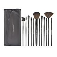 Make-up For You®12pcs Makeup Brushes set Portable/Limits bacteria Black Blush brush Shadow/Eyeliner/Brow/Lashes Brush High grade Makeup Kit