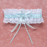 Amazing Satin With Rhinestones And Lace Wedding Garter