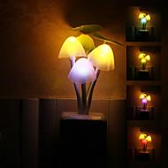 Paddestoel vormige kleurrijke LED Night Light