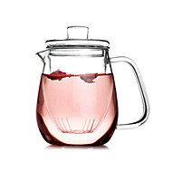 Classic-dobbeltværelse niveau glas tekande (500 ml)