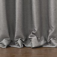 TWOPAGES® One Panel  Modern Solid Blackout Curtain