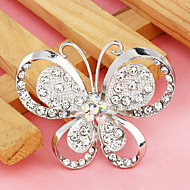 Women's  Exquisite Butterfly Shape Brooch(Random Color)