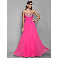 A-line/Princess Sweetheart Floor-length Chiffon Elegant Evening/Prom Dress