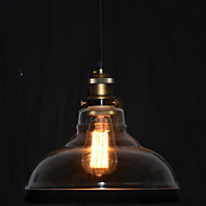 Max 60W Traditional/Classic / Vintage / Bowl Mini Style Painting Pendant Lights Bedroom / Study Room/Office / Hallway