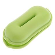 Qirtie Zöld Peanut earphones kábelcsévélő vezeték Twister iPod MP3 MP4
