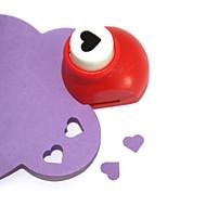 mini-perfurador do ofício (coração pêssego)