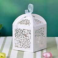 리본 (더 색) 꽃 디자인 레이저 컷 상자 12 개 세트 -