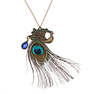 Jewelry Pendant Necklaces / Vintage Necklaces Daily Copper / Rhinestone Women Coppery Wedding Gifts