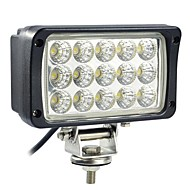 45W 15 LEDs rektangel Work Light