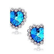 Women's  Star sapphire earrings E408