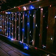 100 Led White Net Light 2M X 1.5M Solar Christmas Light,Solar Holiday Light(Cis-57181)