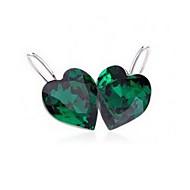 Delicate legering met Crystal Glass Women's oorbellen (meer kleuren)