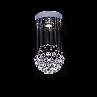 Max 50W Moderno / Contemporáneo Cristal Galvanizado Metal Lámparas Araña / Montage de Flujo Dormitorio / Comedor / Cocina