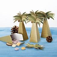 Baby Party / Geburtstag / Jubliläum Party Favors & Geschenke-12Stück / Set Geschenkboxen Kartonpapier Strand Thema Other Braun / Grün