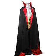 Cosplay Costumes / Party Costume Vampire Evil Castle Black Cloak Men's Costume