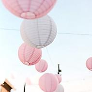 bryllupet innredning kinesisk runde papirlykt (flere farger)