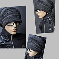 男性のドレープknited帽子