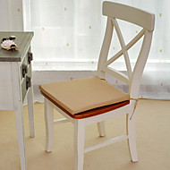 "Coussin de chaise, coton / polyester 15 ""* 17"", rectangulaire, Vichy"