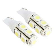 20x Car T10 194 168 W5W 2825 SMD 5050 9 LED Pure White Side Tail Light Bulb Lamp