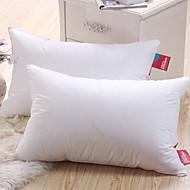 100% Cotton høy elastisitet White Bed Pillow
