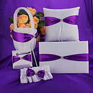 Purple Bow Wedding Collection Set (5 stk)