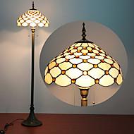 Kontrollera Lampa Mönster Golv, 2 Svag, Tiffany Resin glasmålning Process
